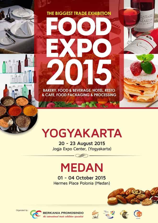 Food Expo 2015 di Yogyakarta dan Medan
