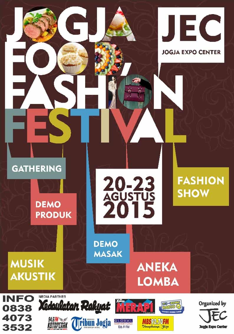Jogja Food Fashion Festival di Jogja Expo Center (JEC)