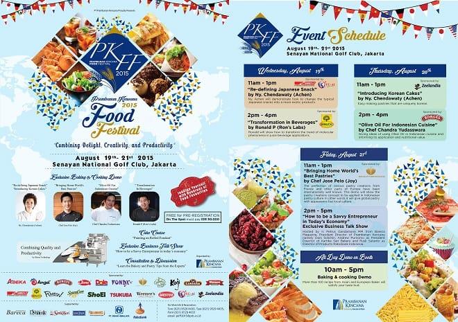 Prambanan Kencana Food Festival 2015 di Jakarta