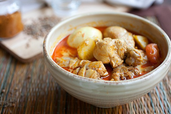 Malaysian Recipe: Malaysian Chicken Curry