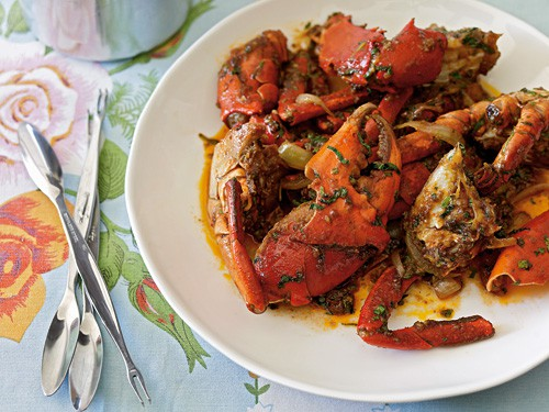 Vietnam Recipe: Crab with Tamarind and Chili