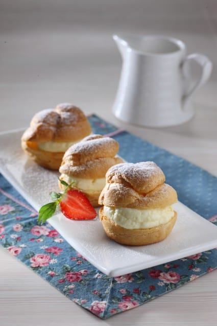 Resep Cream Cheese Profiterol