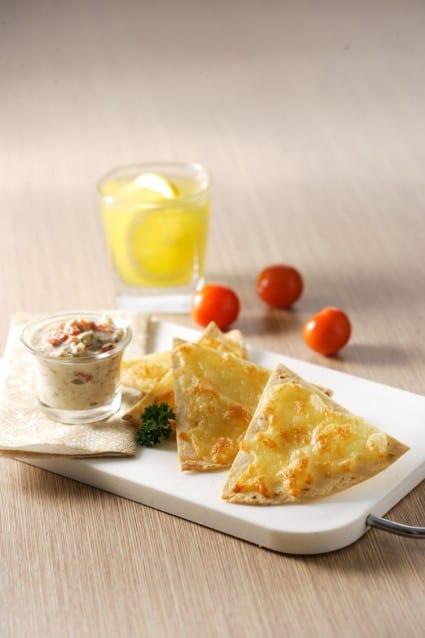 Resep Tortilla dan Tuna Dips