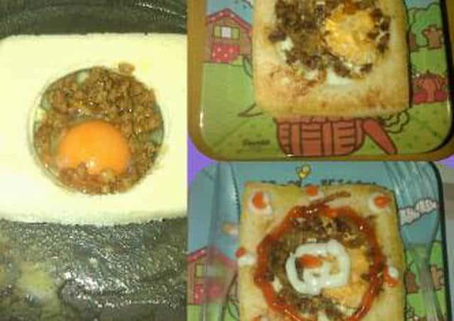 Resep Sarapan: Roti Telur Ceplok