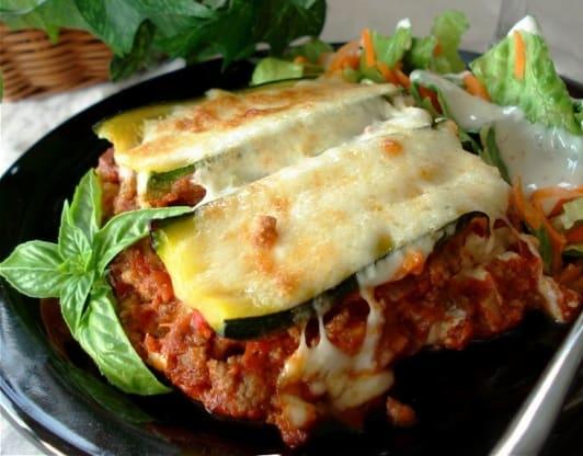 Resep Italia: Eggplant Zuccini Lasagna