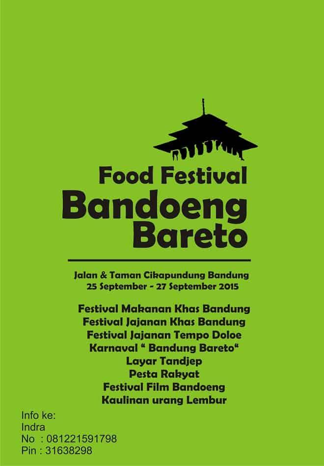 Food Festival Bandoeng Bareto