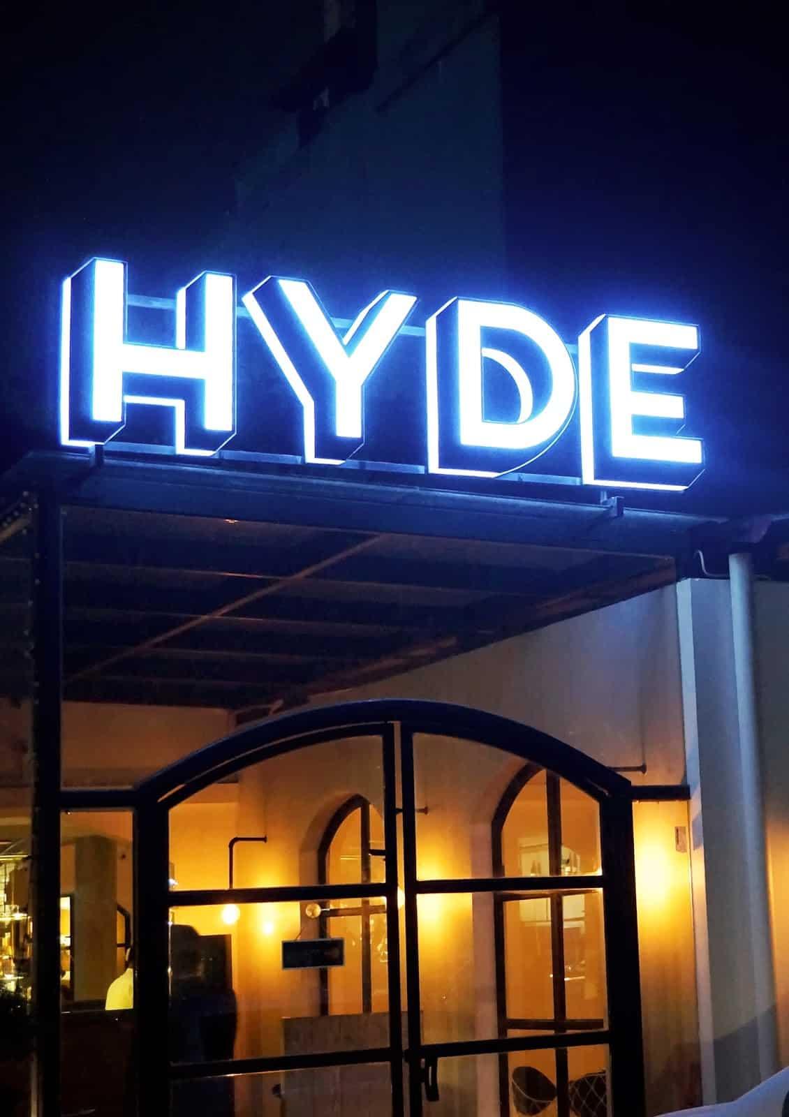 Hyde, Bar dan Resto Berinterior Yunani di Kemang