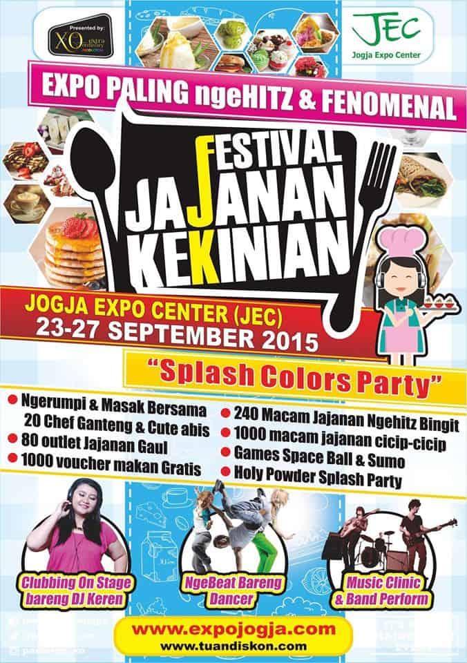 Festival Jajanan Kekinian di Jogja Expo Center (JEC)