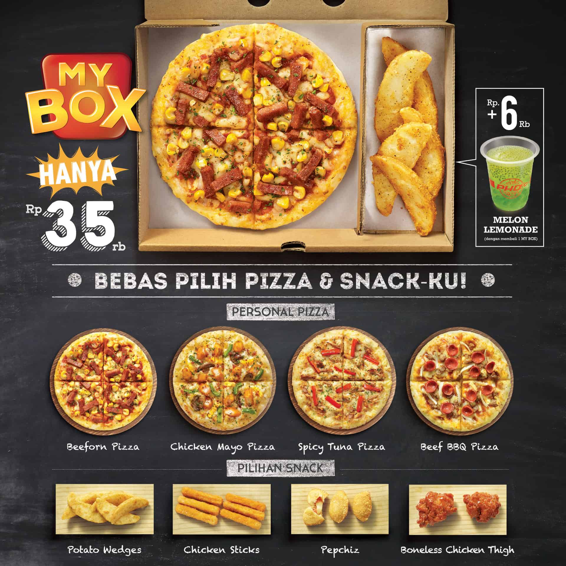 PHD Promo My Box Hanya 35rb!