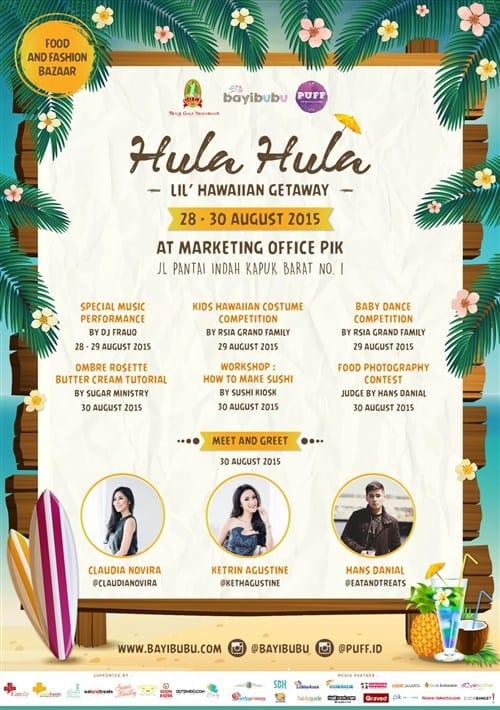 """Hula Hula """"Lil' Hawaiian Getaway"""": Food and Fashion Bazaar di Jakarta"""