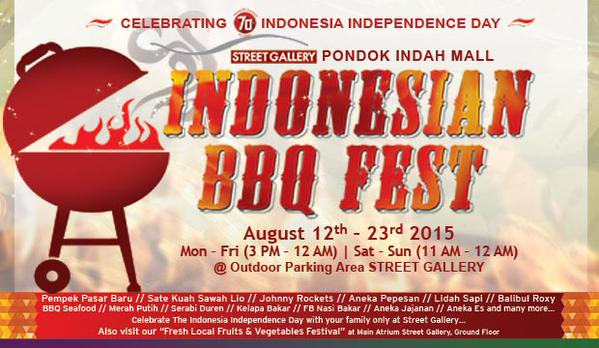 Indonesian BBQ Fest di Pondok Indah Mall