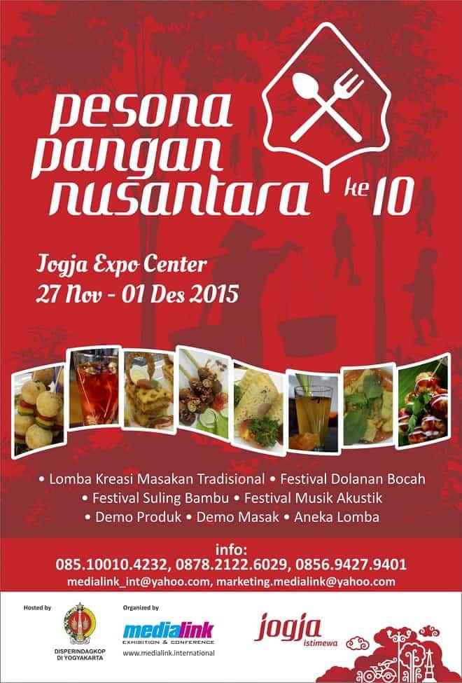 Pesona Pangan Nusantara ke-10 di Jogja Expo Center Yogyakarta