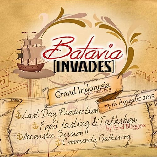 Batavia Invades Grand Indonesia West Mall Level 5