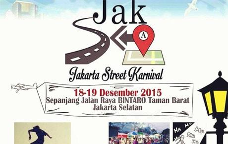 Jakarta Street Karnival di Sepanjang Jalan Raya Bintaro