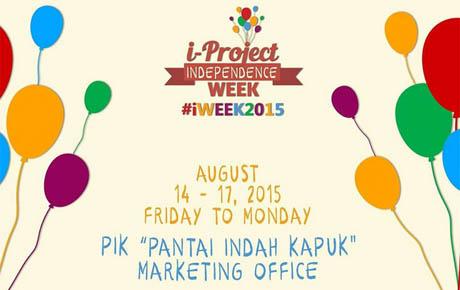 iProject INDEPENDENCE WEEK #iWEEK2015