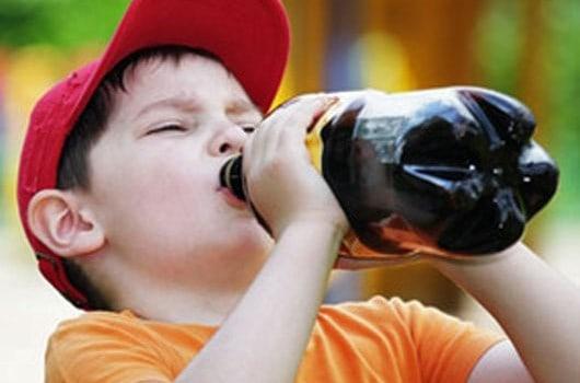 Minuman Manis Sumber Kegemukan Anak?