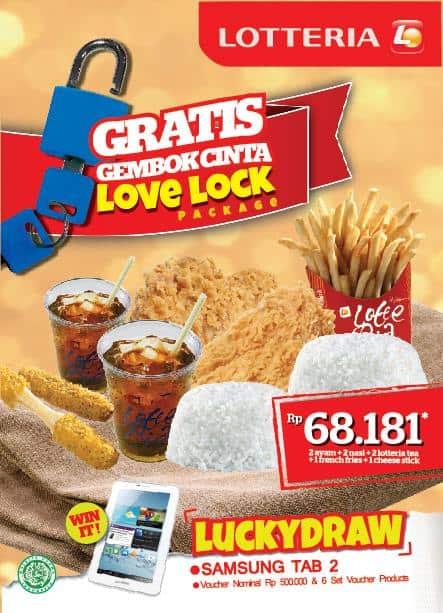 Lotteria Promo Menu Baru Hanya Rp. 68.181,-