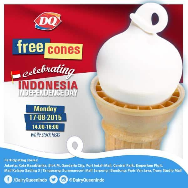 Daily Queen Promo Free Cones