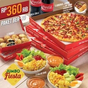 Promo Jumbo Fiesta Pizza Hut Delivery Hanya RP 360 Ribu Ber-10