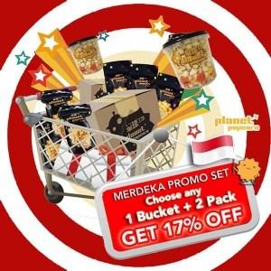 Planet Popcorn Merdeka Promo Set Get 17% Off!