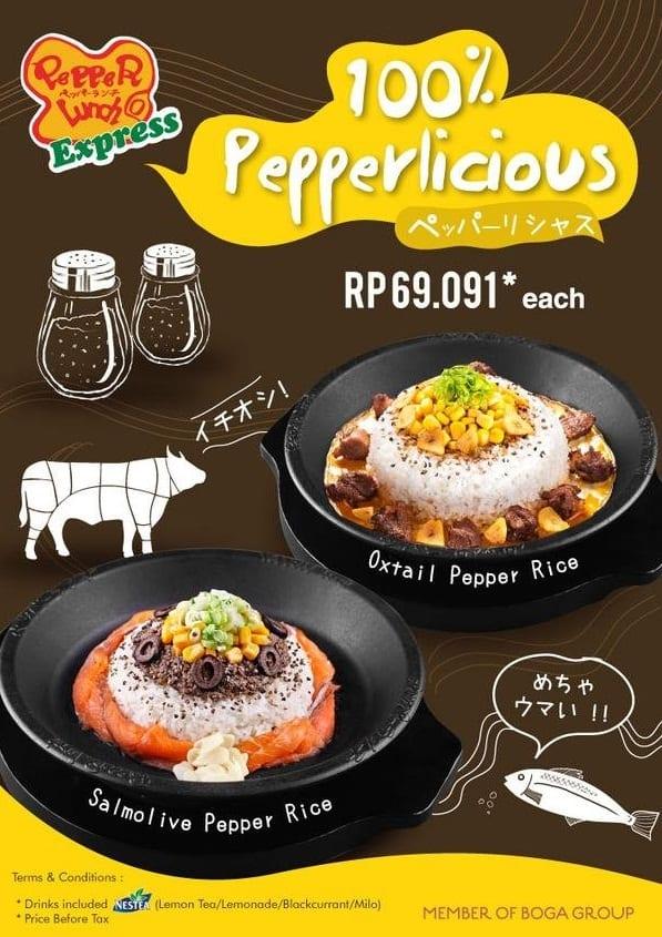Pepper Lunch Promo Menu Baru Cuma Rp. 69.091,-