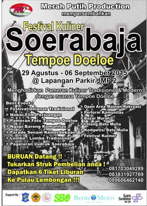 Festival Kuliner Soerabaja Tempoe Doeloe 2015