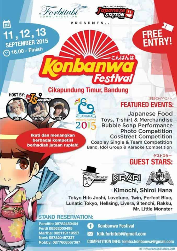 Konbanwa Festival di Cikapundung Timur, Bandung