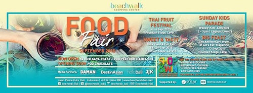 Food Fair di Beachwalk Shopping Center, Bali