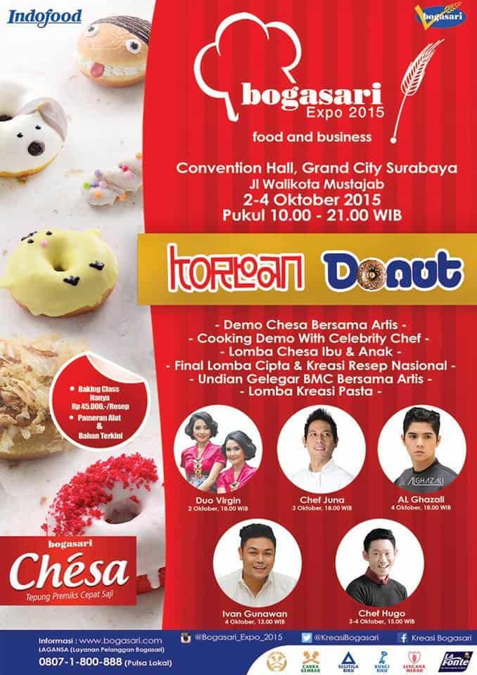 Bogasari Expo 2015 'Food and Business' di Grand City Surabaya