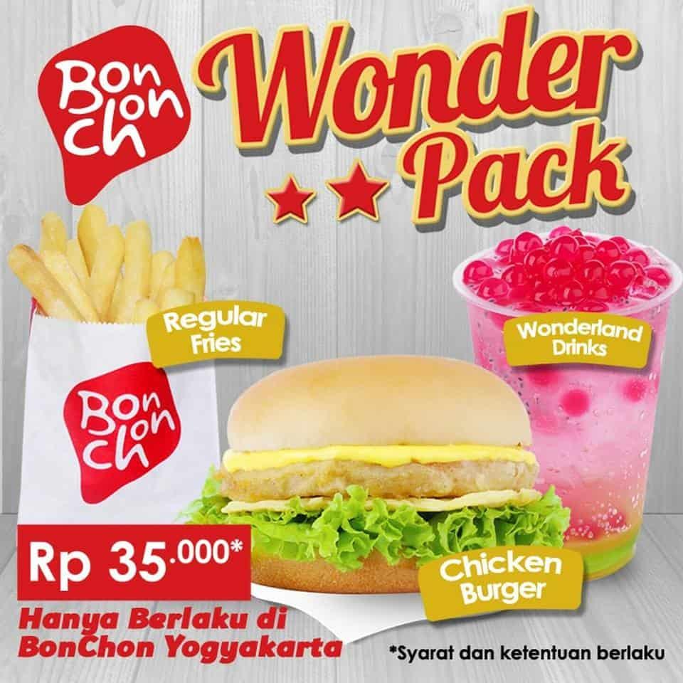 Bonchon Promo Wonder Park Hanya Rp. 35.000,-