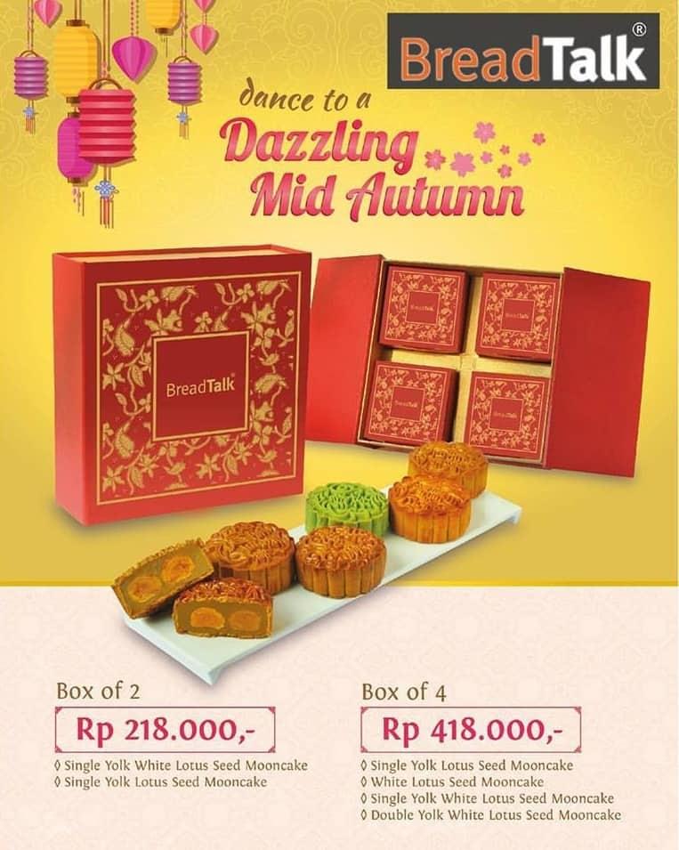 Breadtalk Promo Dazzling Mid Autumn Mulai dari Rp. 218.000,-