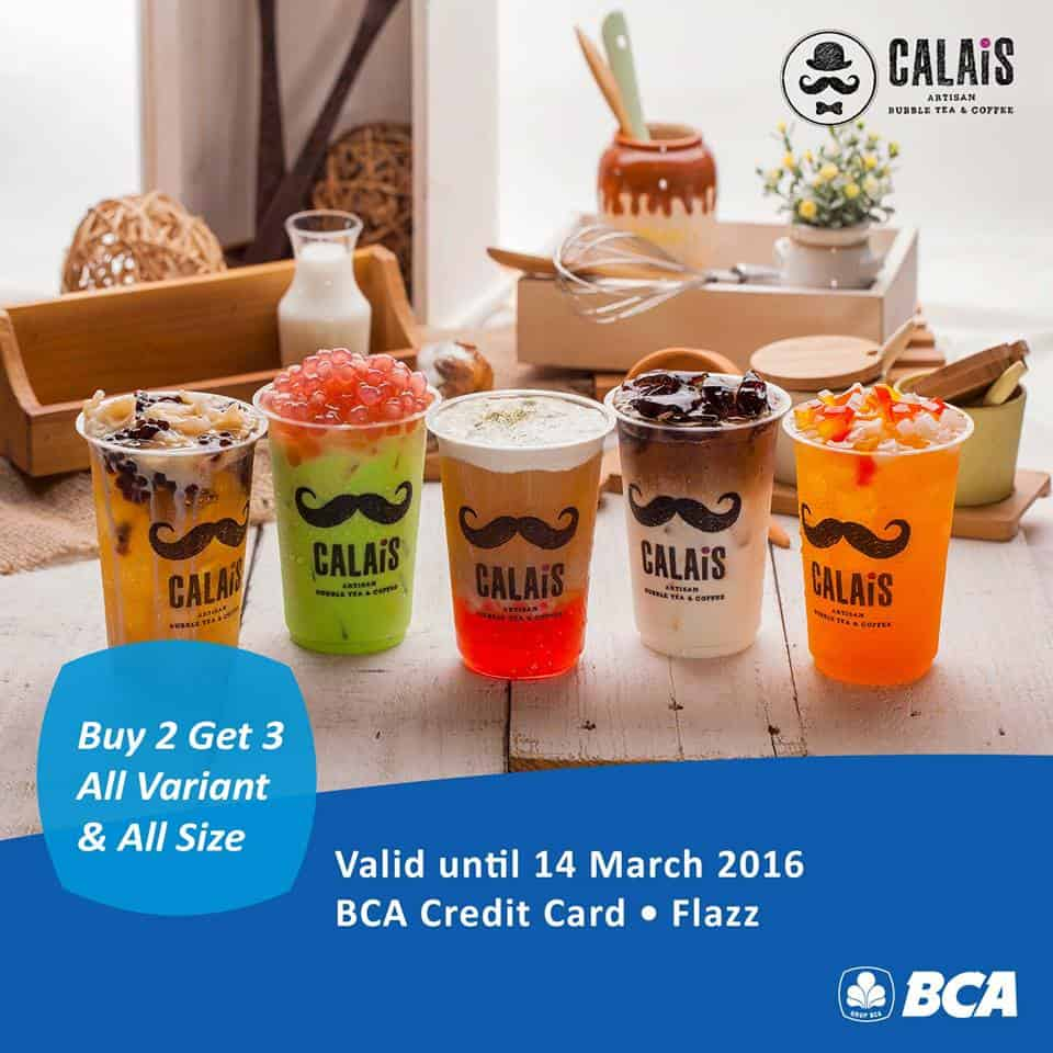 Calais Tea Promo Buy 2 Get 3