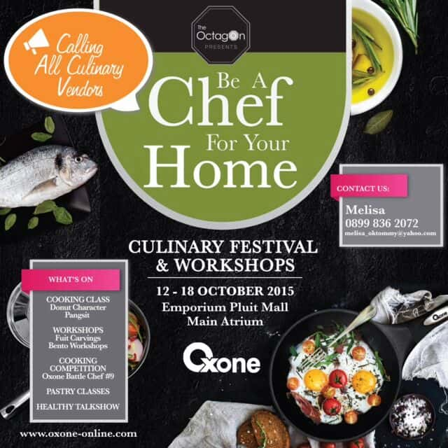Culinary Festival & Workshop di Emporium Pluit Mall