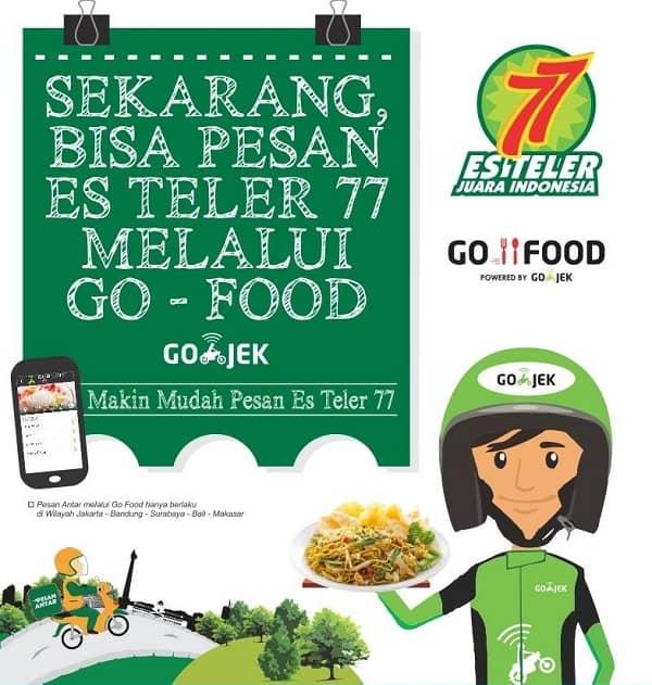 Es Teler 77 Promo Pesan Makanan/Minuman di Es Teler 77 Melalui Go Food – Go Jek!