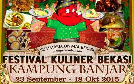 Festival Kuliner Bekasi Kampung Banjar di Summarecon Mal Bekasi
