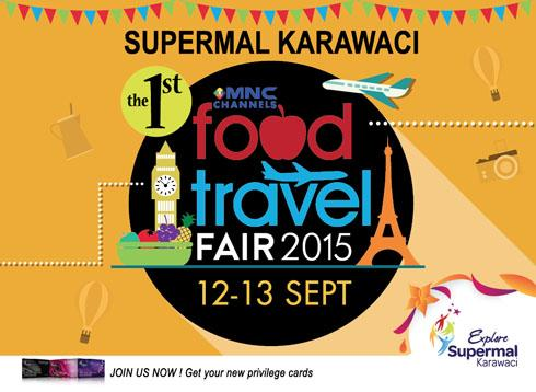 MNC Channels Food Travel Fair 2015 di Supermal Karawaci