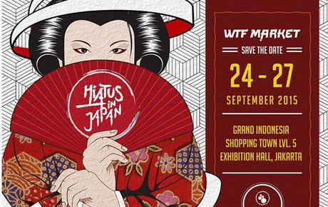 Hadiri Segera WTF Market Hiatus in Japan di Grand Indonesia