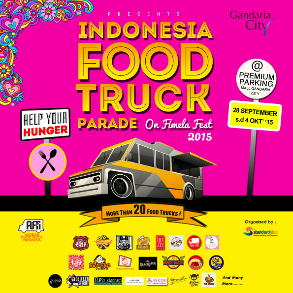 Indonesia Food Truck Parade on Fimela Fest 2015 di Gandaria City