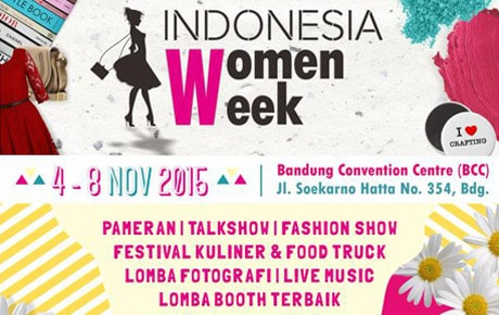 Festival Kuliner dan Food Truck Indonesia Women Week 2015 di Bandung