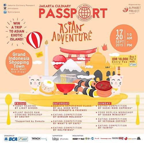 Jakarta Culinary Passport Asian Advanture di Grand Indonesia Shopping Town