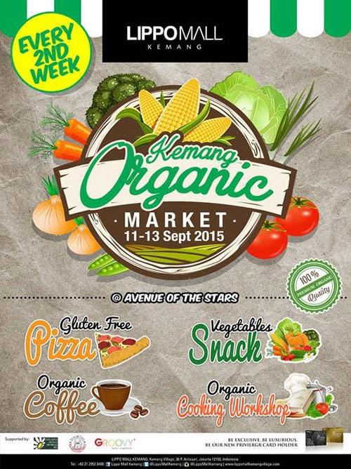 Kemang Organic Market di Lippo Mall Kemang