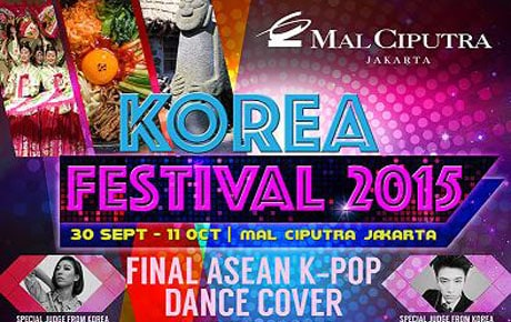 Icip-icip Kuliner di Korea Festival 2015 Mal Ciputra Jakarta