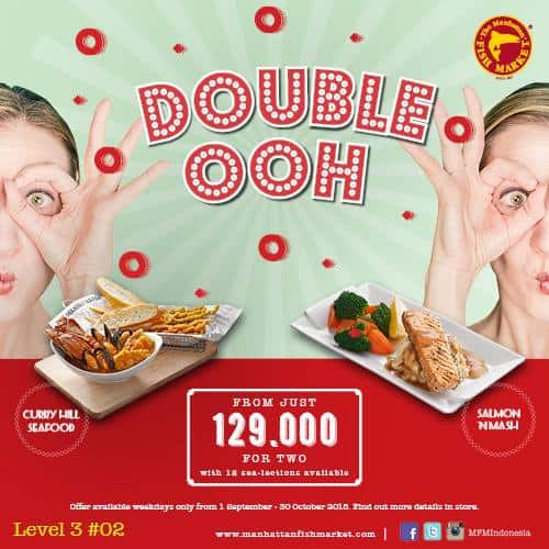 The Manhattan Fish Market Promo Paket Berdua Hanya Rp. 129.000,-