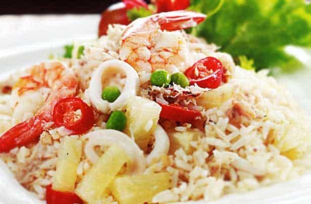 Resep Membuat Nasi Gurih Seafood Lezat