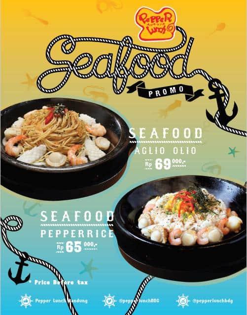 Pepper Lunch Promo Menu Baru Seafood Mulai Dari Rp. 65.000,-