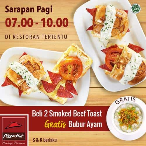Pizza Hut Promo Menu Sarapan Pagi