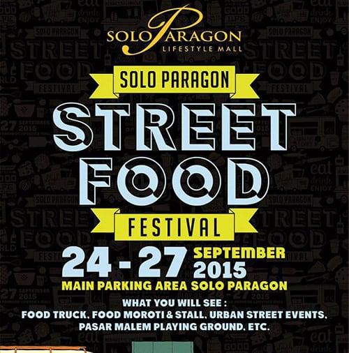 Street Food Festival di Solo Paragon