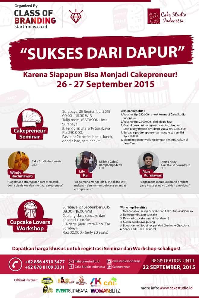 Seminar dan Workshop Sukses dari Dapur di Surabaya