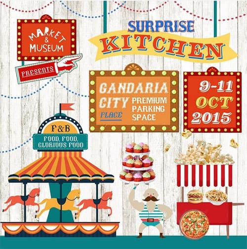Market & Museum Surprise Kitchen di Gandaria City