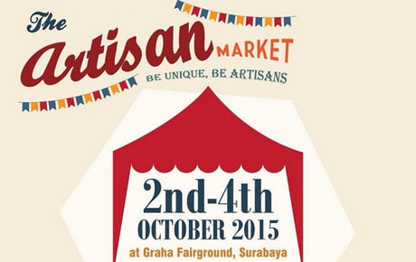 The Artisan Market di Graha Fairground Surabaya